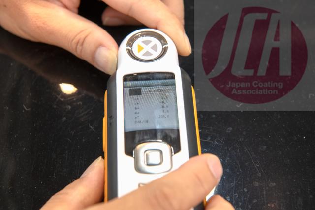 分光色差計による研磨の検証会を広島で開催