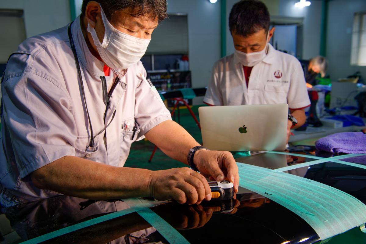広島会場 分光色差計(測色計)による研磨検証プログラム