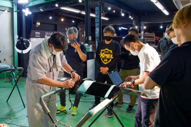 第二回広島会場 分光色差計(測色計)による研磨検証プログラム